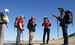 初心者のための山歩き教室は全コース催行保証