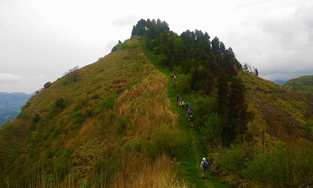 南阿蘇外輪山第2回 清水峠から清栄山