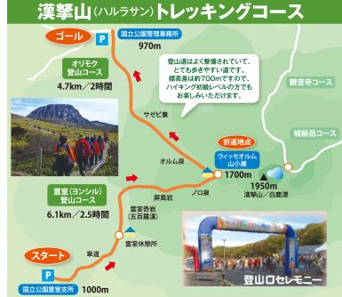 漢拏山(ハルラ山) トレッキングコース