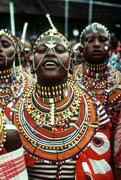 アンボセリ国立公園 マサイ族の女性
