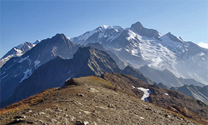 ヨーロッパの最高峰のモンブランをぐるっと一周