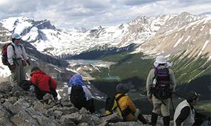 スコーキー山頂からの風景