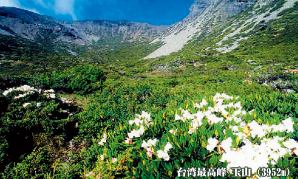 台湾最高峰 玉山(3952m)と雪山(3886m)登頂