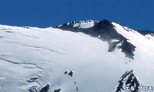 チリ・アンデスの名峰 エル・プロモ峰(5424m)登頂
