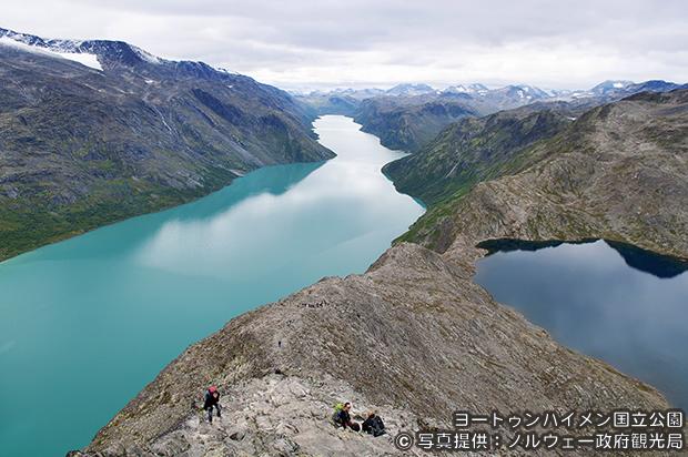 ノルウェー国立公園 縦走トレッキングと最高峰ガルホピッゲン登頂