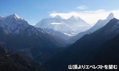 4,618mのパラクピークに登頂