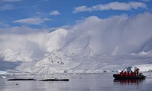 南極探検旅行 フォーニア湾